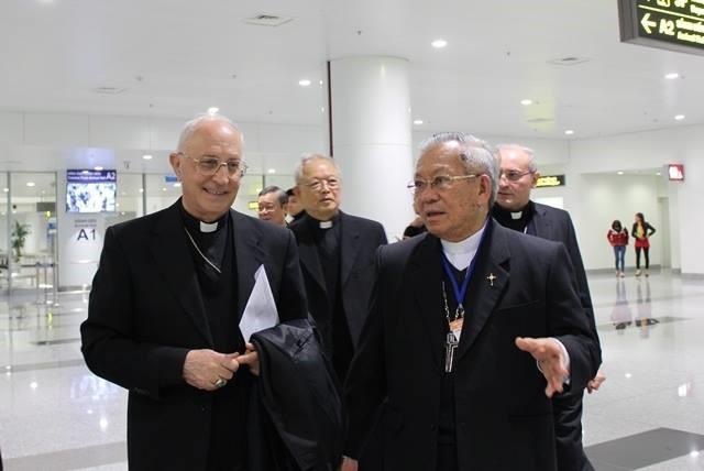 Đức Hồng Y Fernando Filoni, Tổng trưởng Bộ Loan báo Tin mừng cho các dân tộc đã đến Hà Nội