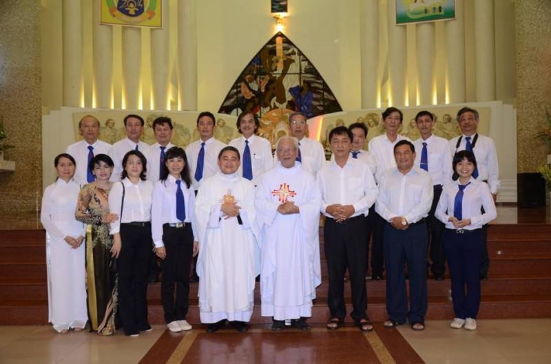 Ban Truyền thông hạt Phú Thọ mừng bổn mạng