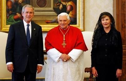 Bush - Pope1