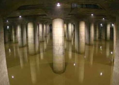 """Hệ thống thoát nước ngầm """"siêu khủng"""" ở ngoại ô Tokyo"""