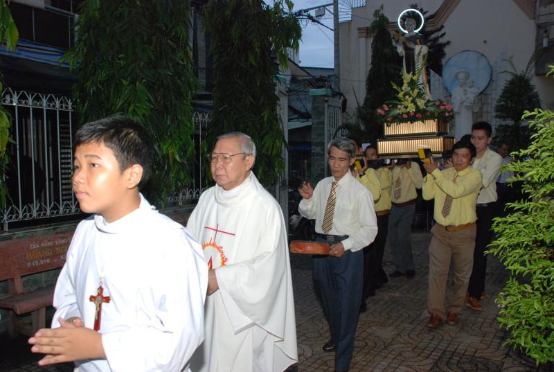 Giáo khu Thánh Martinô mừng bổn mạng