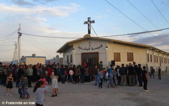 Một nhà thờ mới cho tín hữu tị nạn ở Irak.