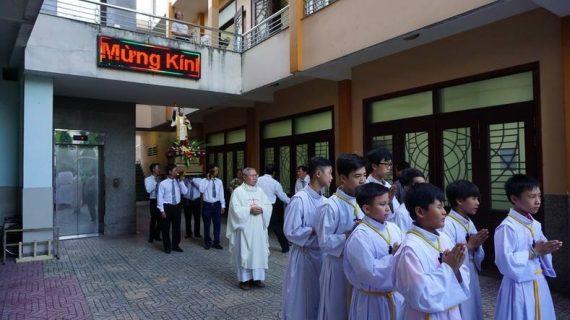 Giáo khu Phanxicô Xaviê mừng lễ bổn mạng