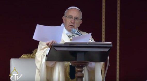 Bài giảng của Đức Thánh Cha trong Thánh Lễ khai mạc Năm Thánh