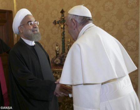 Đức Thánh Cha tiếp kiến Tổng thống Cộng hòa Hồi giáo Iran.