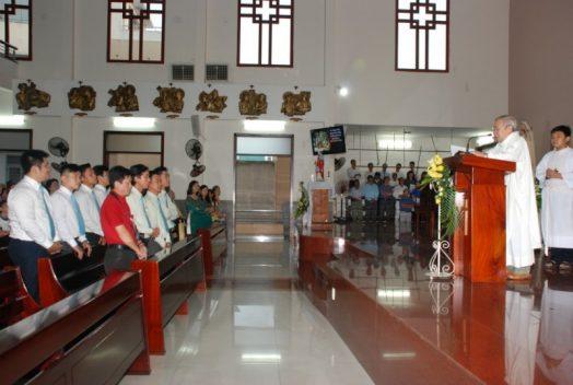Giáo khu Thánh Phaolô Tông Đồ Trở Lại  mừng bổn mạng