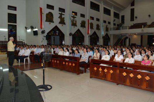 Ban Hội đồng mục vụ hạt Phú Thọ tập huấn
