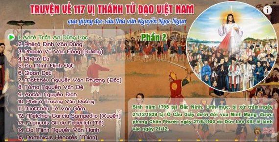 AUDIO : Truyện về 117 Vị Thánh Tử Đạo Việt Nam