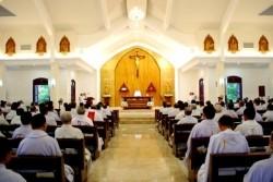 Tuần Tĩnh tâm thường niên 2016 của linh mục đoàn Sài Gòn