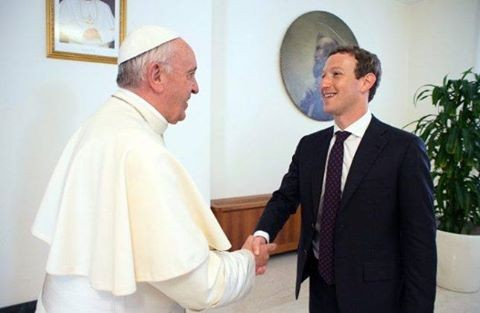 Đức Thánh Cha gặp gỡ người sáng lập Facebook