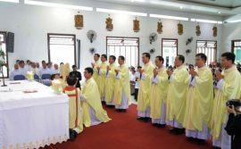 Dòng Đồng Công: Thánh lễ truyền chức linh mục