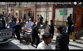 Video: Thế Giới Nhìn Từ Vatican 04 – 10/08/2016: Tai ương khủng bố Hồi Giáo – Cả một thế hệ luật sư bị giết