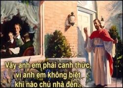 HÃY TỈNH THỨC CHỜ ĐỢI CHÚA