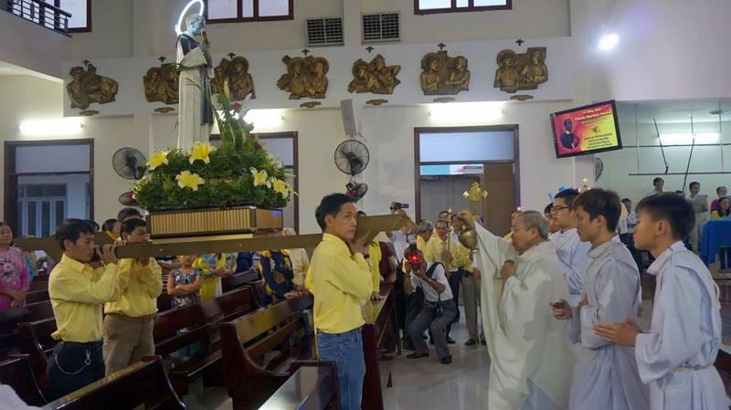 Giáo khu Martinô mừng lễ bổn mạng