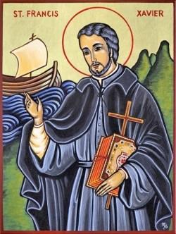 Ngày 03/12: Thánh Phanxicô Xaviê, bổn mạng các xứ truyền giáo