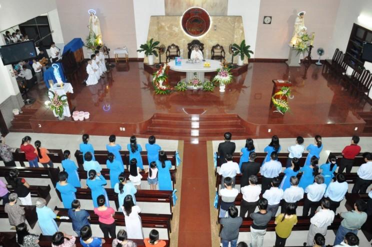 Giáo khu Đức Mẹ Vô Nhiễm mừng lễ bổn mạng
