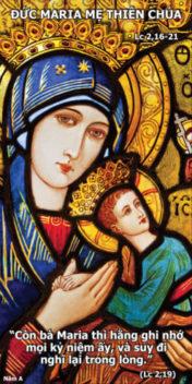 [Audio Bài Giảng]Đức Maria Mẹ Thiên Chúa Năm A Thánh Thiếu Nhi
