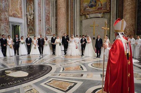 Cần chuẩn bị về mặt bí tích và pháp chế tiền hôn nhân