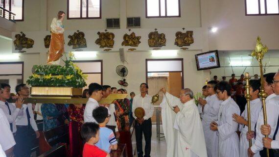 Giáo khu II mừng Bổn mạng