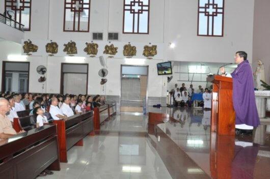 Kết thúc Tam nhật Tĩnh Tâm của cộng đoàn giáo xứ