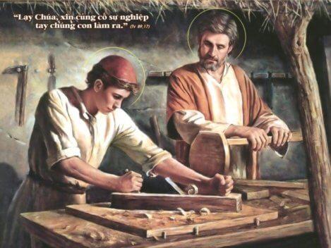 Mẫu gương Thánh Giuse – Gia trưởng