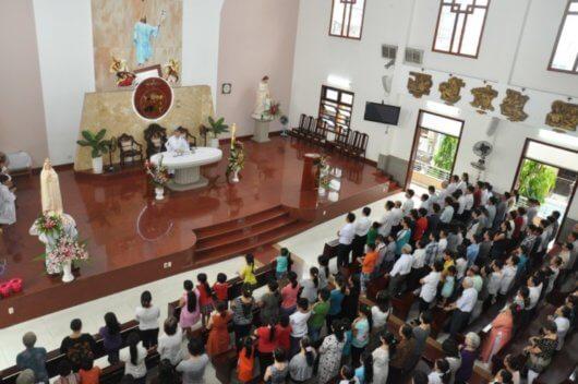 Thánh lễ kỷ niệm 100 năm Mẹ hiện ra tại Fatima
