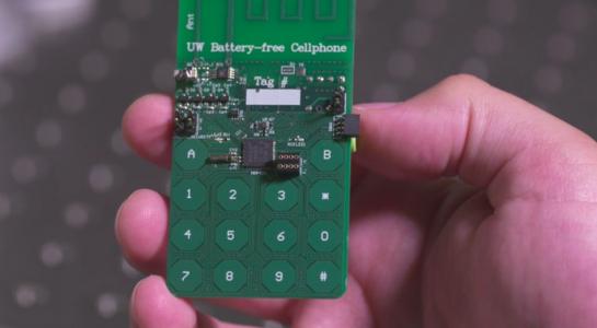 Hoa Kỳ chế tạo điện thoại không cần pin lẫn SIM