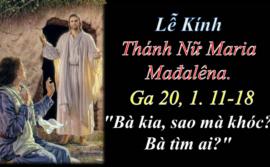Bài Chia Sẻ Lời Chúa Thứ Bảy Sau Chúa Nhật XV Thường Niên Năm A.