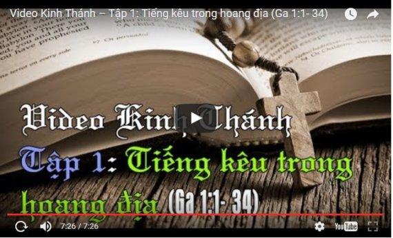 Video Kinh Thánh – Tập 1: Tiếng kêu trong hoang địa