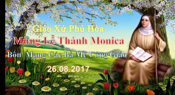[Audio Thánh Lễ] Thứ Bảy Sau Chúa Nhật XX TN-A Lễ Thánh Nữ Monica Bổn Mạng CBMCG.