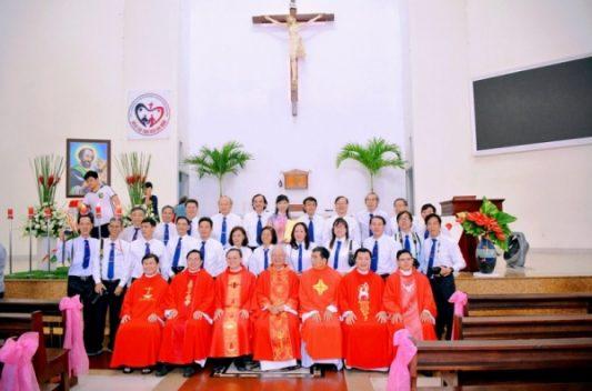 Liên nhóm MVTT Tân Định – Chí Hoà – Phú Thọ: Mừng lễ bổn mạng