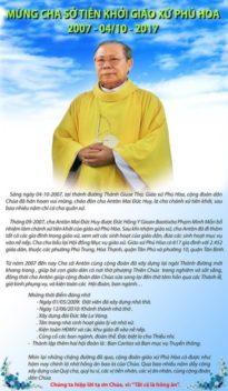 Giáo xứ Phú Hòa: kỷ niệm 10 Năm Cha sở tiên khởi