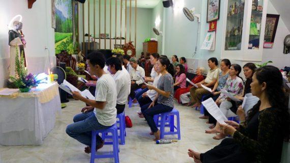 Giáo khu Thánh Martin tĩnh tâm mừng bổn mạng