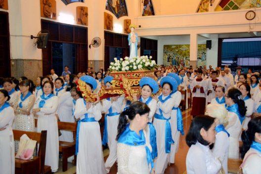 Gíao Hạt Phú Thọ: Hội các Bà Mẹ Công Giáo mừng bổn mạng