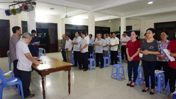 Giáo xứ Phú Hòa họp Hội đồng Mục vụ