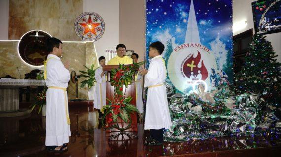 Thánh lễ Thiếu Nhi : Mừng Chúa Giáng Sinh