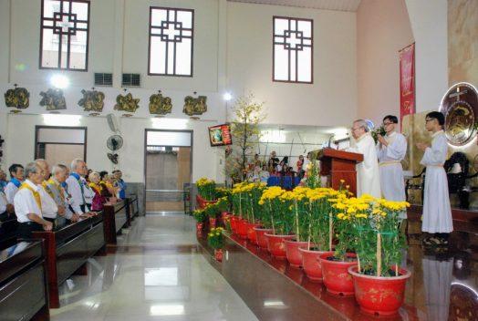 Thánh lễ chúc Thọ Quý Cụ cao niên
