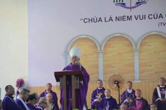 Bài giảng trong thánh lễ an táng Cố Đức Tổng Phaolô Bùi Văn Đọc