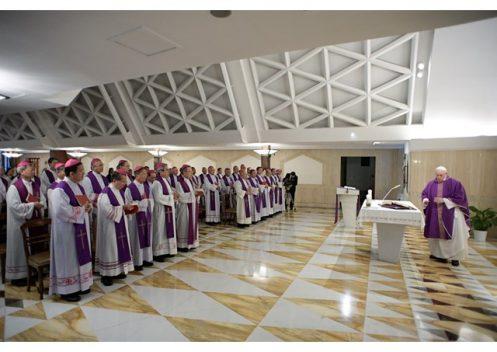 Các Giám Mục Việt Nam đồng tế thánh lễ với Đức Thánh Cha
