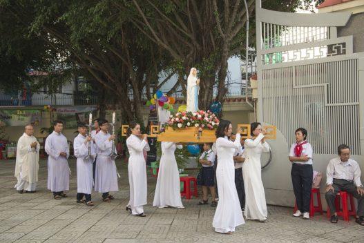 Gx. Bình Thới: Mừng Lễ Đức Mẹ Mân Côi Bổn Mạng Giáo Xứ