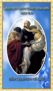 Thánh lễ kính Thánh Gioan Thiên Chúa