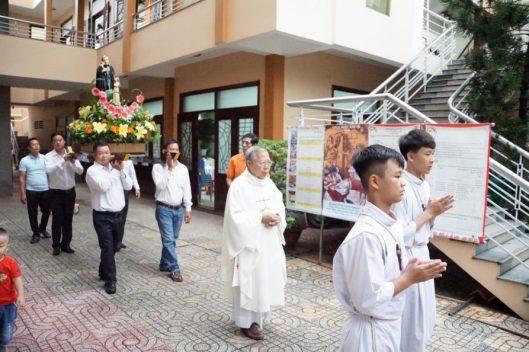Ban Caritas Phú Hòa mừng bổn mạng